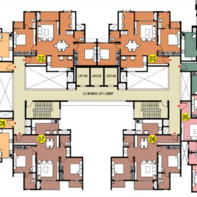 incor-carmel-heights-tower-layout-plan